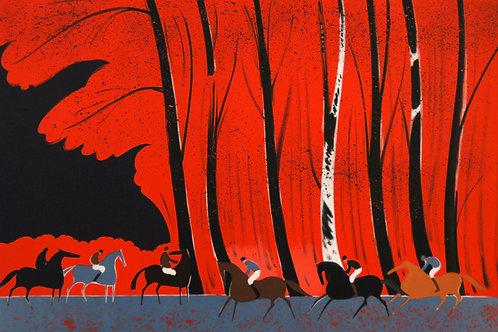 ラシュス 紅葉の森