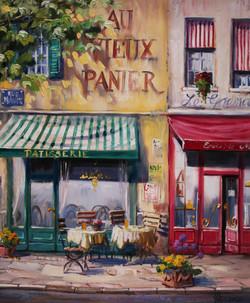 パリのパティスリー