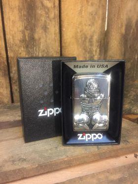 Zippo Lighter - Bondage Girl