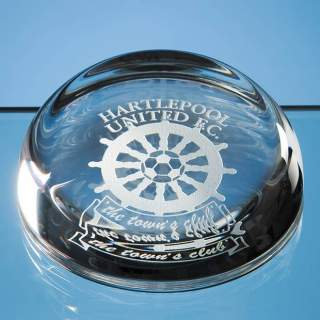 Paperweight - Dome Shaped with Flat Top
