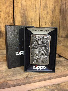 Zippo Lighter - Line Grid