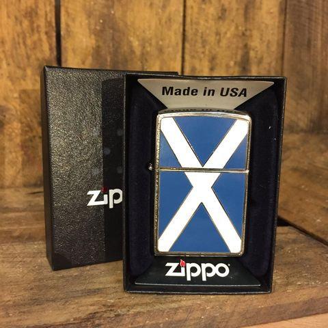 Zippo Lighter - Scotland