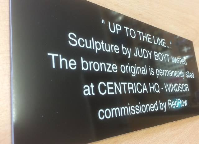 Laminate/Traffolyte  Plaque - Click for more details