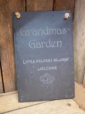 Slate Hanging Sign (price includes engraving)