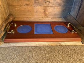 Wooden Decanter Tray
