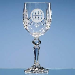 Crystal Wine Goblet Crystalite Stem