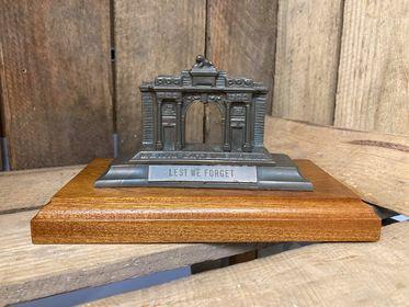 Menin Gate Memorial on Wooden Base