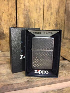 Zippo Lighter - Iced Carbon Fibre