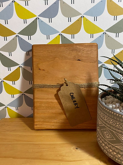 Locally Made Cherry Chopping Board (price includes engraving)
