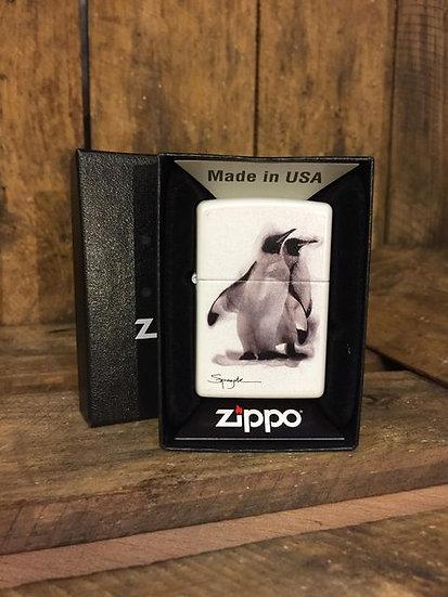 Zippo Lighter - Pengiun