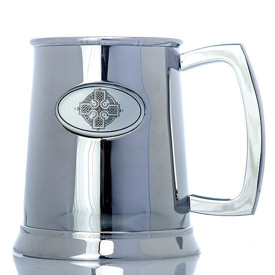 Tankard - One  Pint Stainless Steel Tankard - Celtic