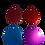 Thumbnail: Round Aluminium Pet Tag - Various Colours