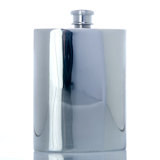 Pewter Hip Flask - 6oz with Plain Design