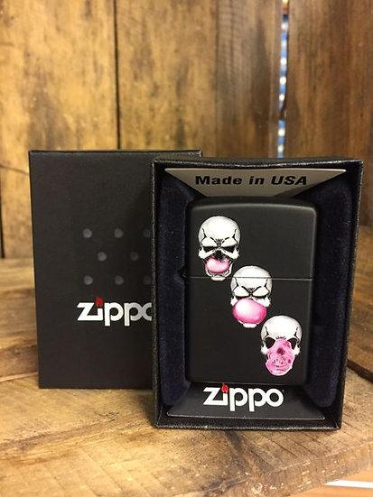 Zippo Lighter - Skull Bubble Gum