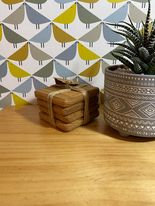 Locally Made Oak Coasters (price includes engraving)
