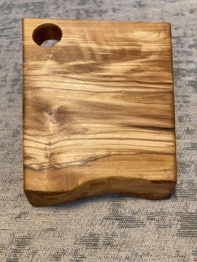Small Olive Hand Crafted Board