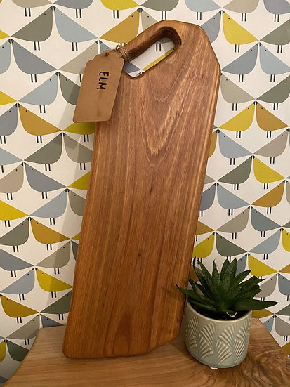 Elm Chopping Board (price includes engraving)