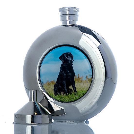 Hip Flask 6oz - Labrador