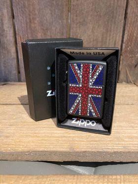 Zippo Lighter - Union Jack Weed