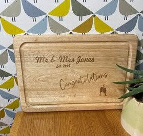 Chopping Board (price includes includes engraving)