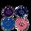 Thumbnail: Enamel Paw Pet Tag 25mm - Various Colours