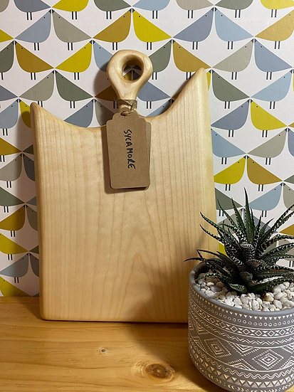 Locally Made Sycamore Chopping Board (price includes engraving