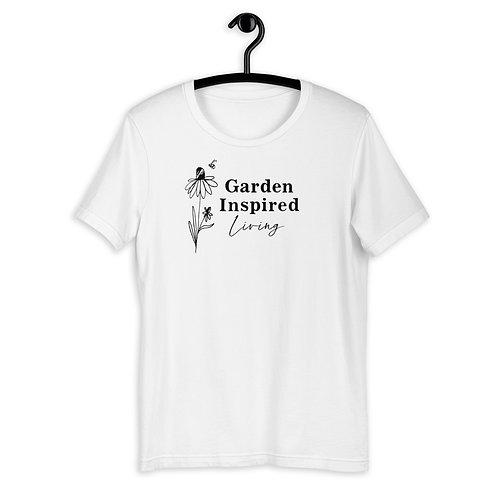 Garden Inspired Living White T-Shirt