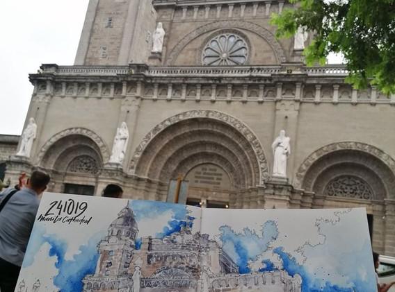 Urban Sketching Manila Cathedral
