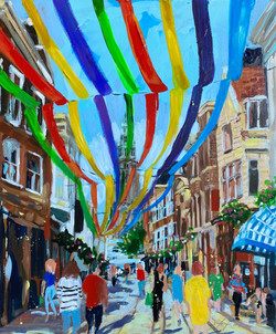 Colourful Zwanestraat Groningen