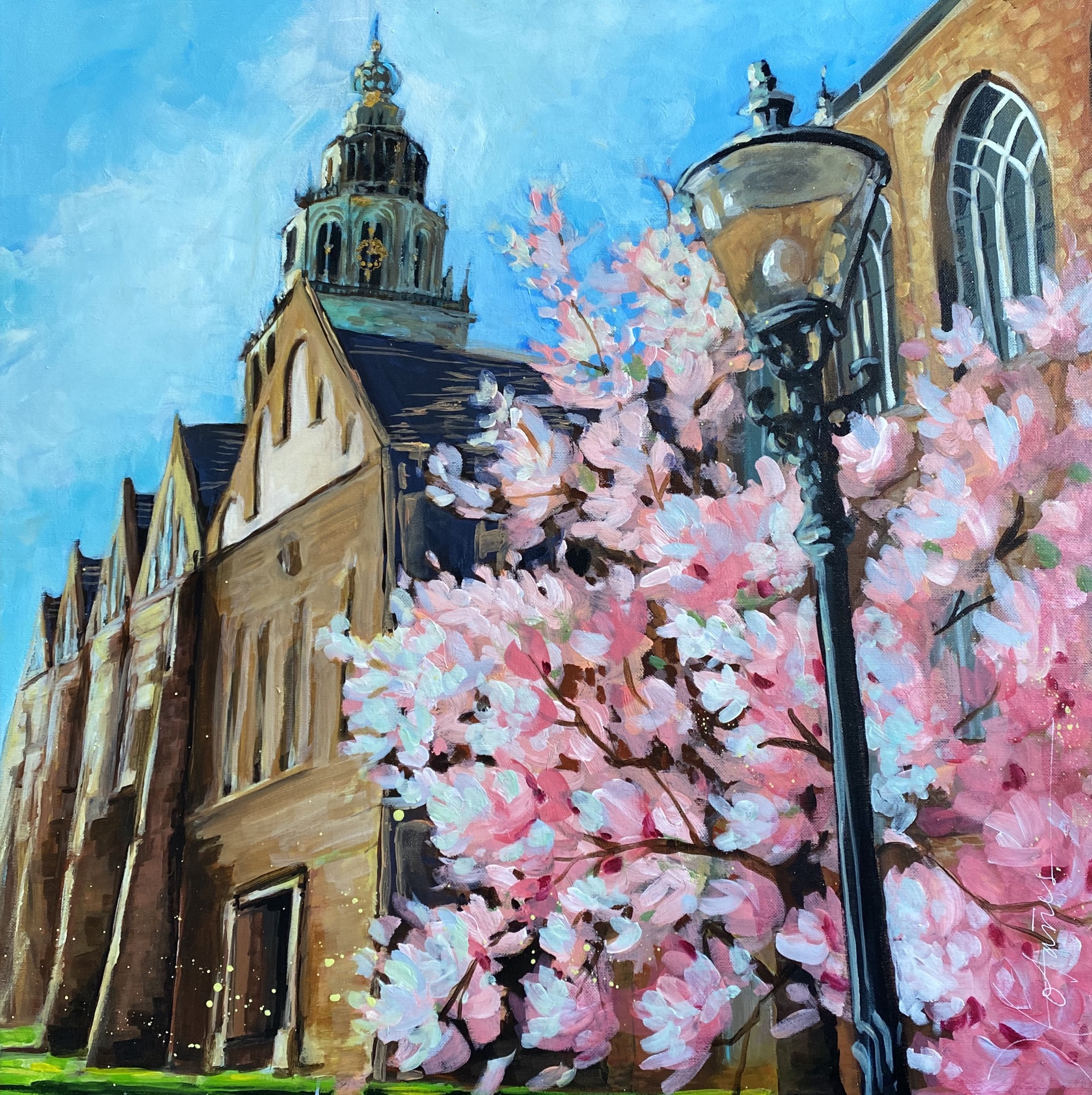 Spring in Martini Kerk