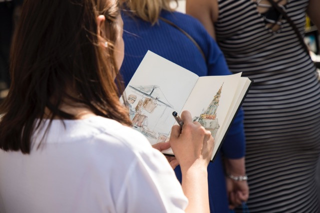 Urban sketching V