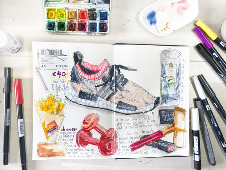 Sketch journal *shopping*