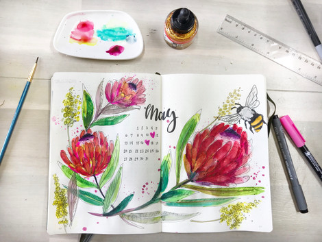 Bulletjournal Month of May