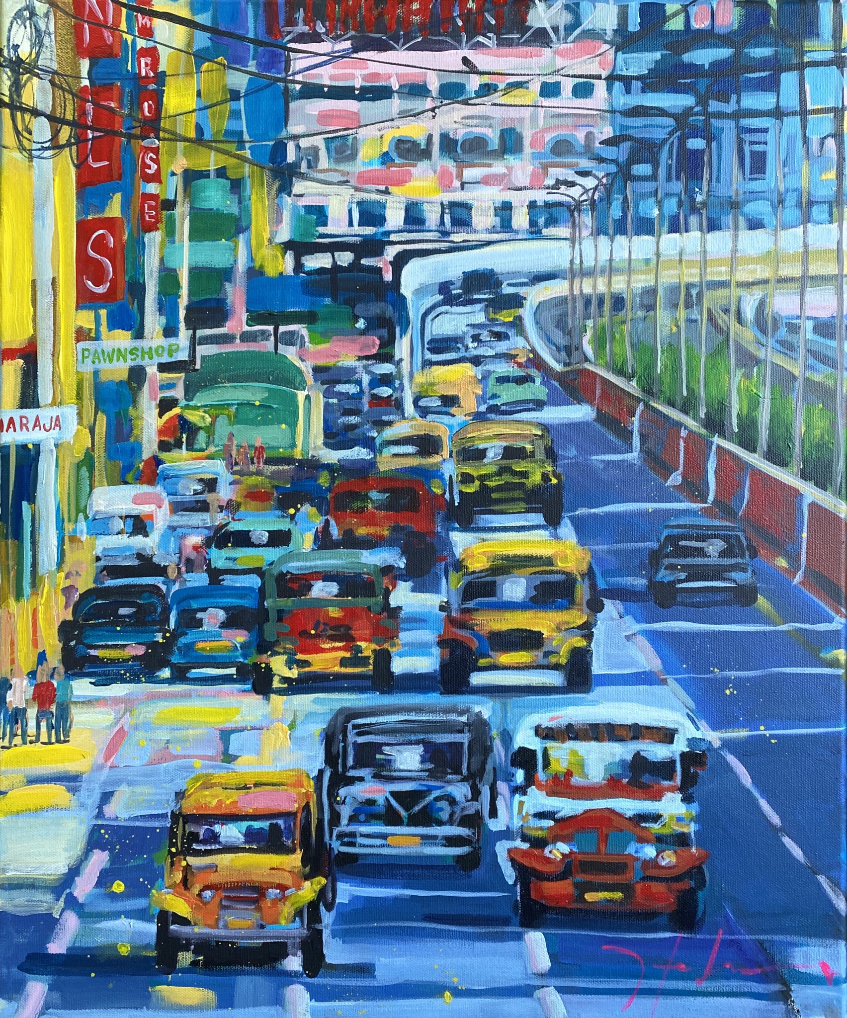 Hustle and bustle Manila
