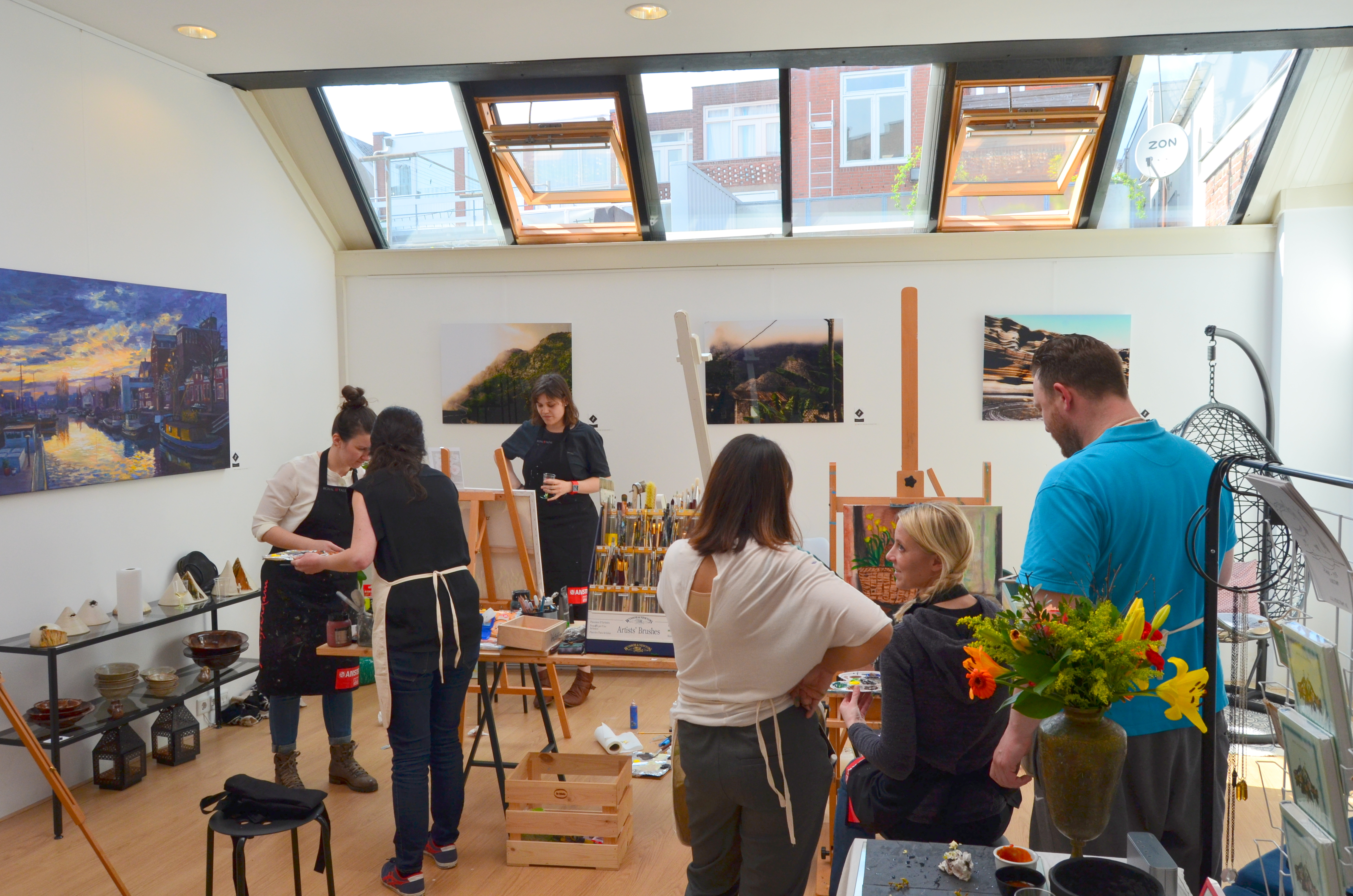 Painting Workshop: Paint With Me