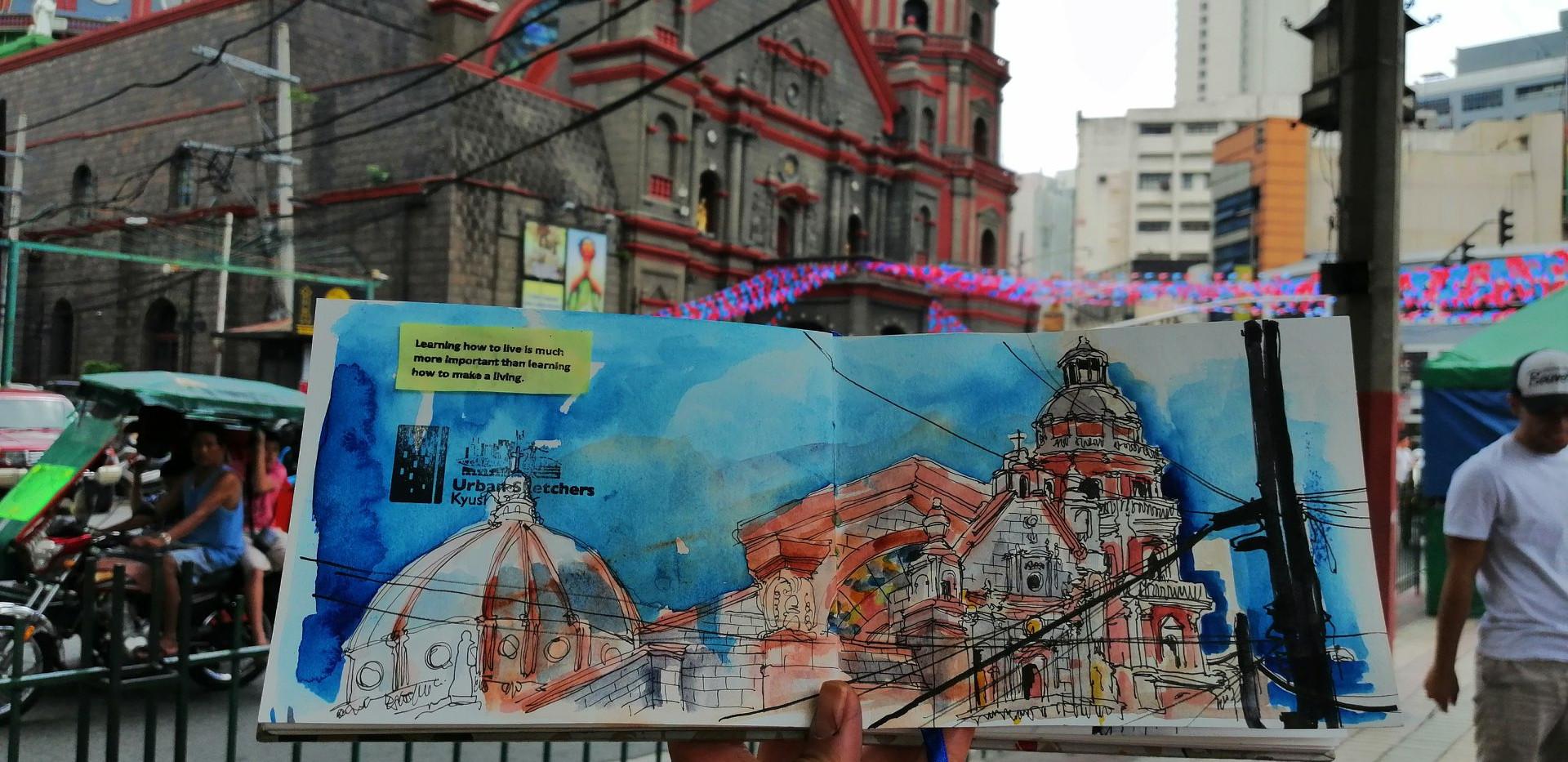 Urban Sketching Binondo Church