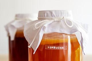 fermented drink, Kombucha healthy natura