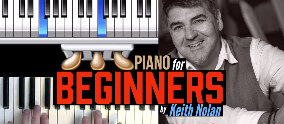Piano For Beginners online course now available !