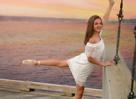 Ballerinas at the Wharf