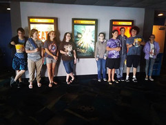 The #Nerdtopia book club (& families) had a great time going to see #AWrinkleinTime this weekend! #STEAM #wellingtonfl #greathometown _#scie