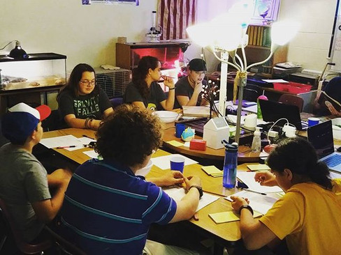 We got our first mock battle under our belts & those bugbears never knew what hit them! #Nerdtopia #RPG #RPGAdventures #dungeonsanddragons #