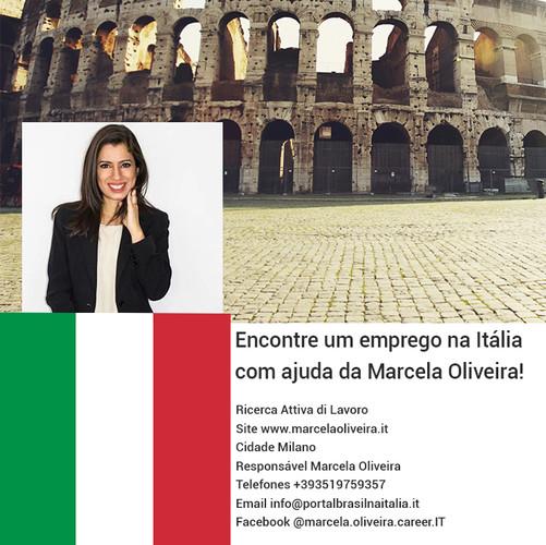 Marcela Oliveira- Integration Now  Ricerca Attiva di Lavoro