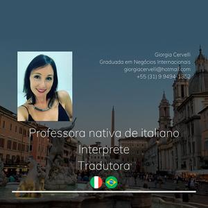 Giorgia Cervelli Professora de Italiano