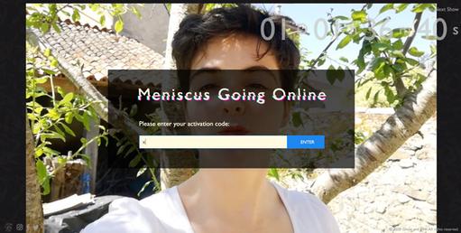 Meniscus Going Online