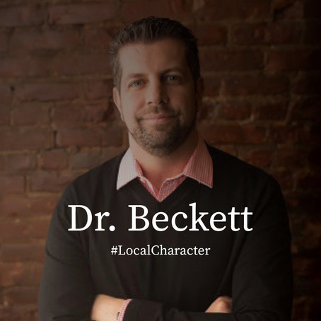 """Local Character: Dr. Christopher """"Dino"""" Beckett"""
