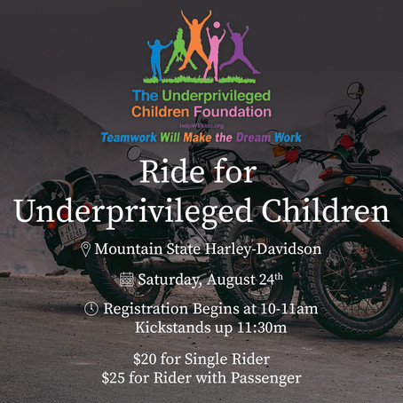 Bikers Helping Children