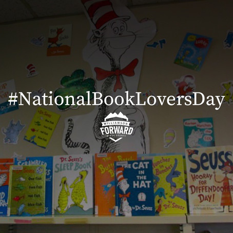 Celebrate #NationalBookLoversDay at the Williamson Public Library