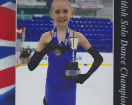 GOLD! at the British Solo Dance Championships 2015