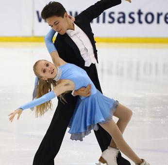British Ice Dance Champion 2015