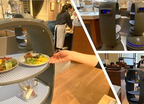 QBITの自動搬送ロボットが、Withコロナ時代の店舗構築に貢献。~二子玉川7/6開店の新店舗で、「非接触」サラダバーを実現~